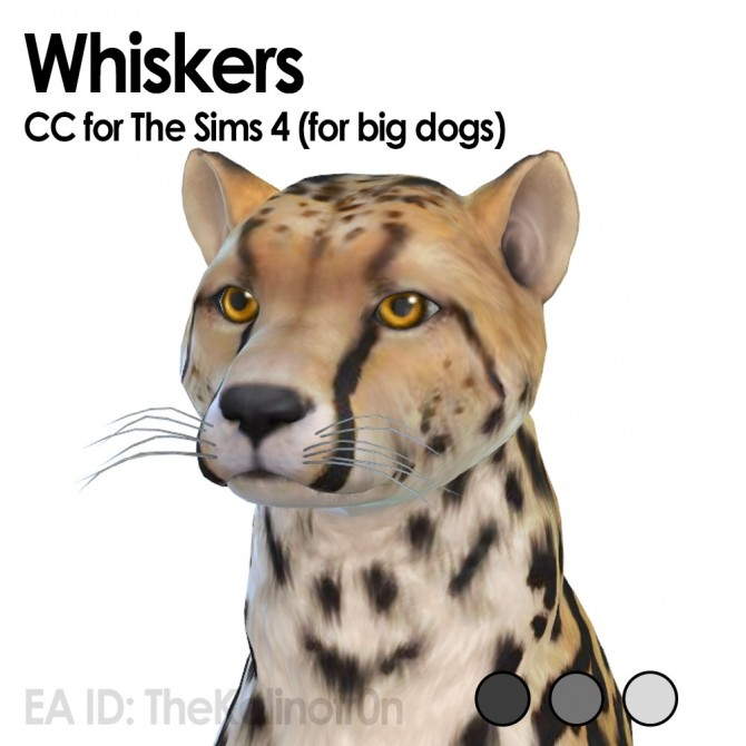 Sims 4 Whiskers for dogs and no whiskers for cats at Kalino