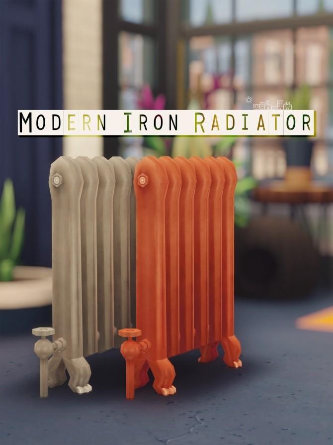 MODERN IRON RADIATOR at Picture Amoebae image 1341 670x894 Sims 4 Updates