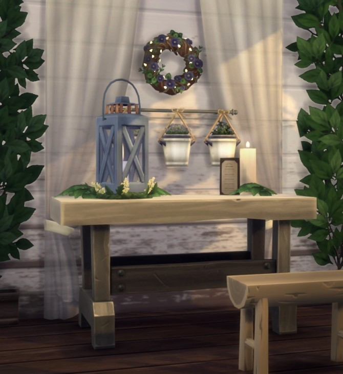 Rustic Romance fan made stuff pack at The Plumbob Tea Society image 1347 670x732 Sims 4 Updates