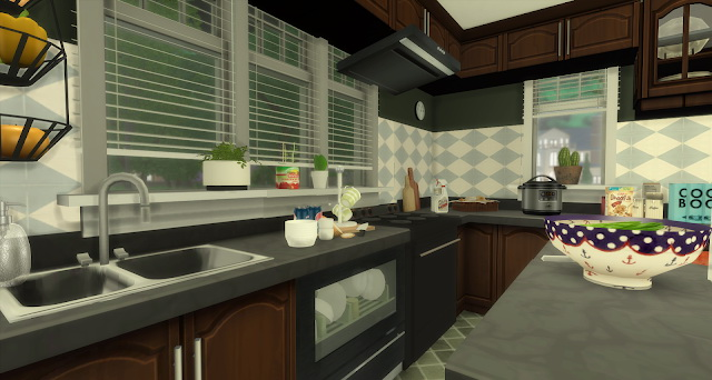 Sims 4 Frankie room by Rissy Rawr at Pandasht Productions