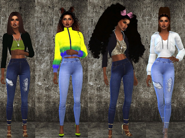 My Blue jeans at Teenageeaglerunner image 13614 Sims 4 Updates