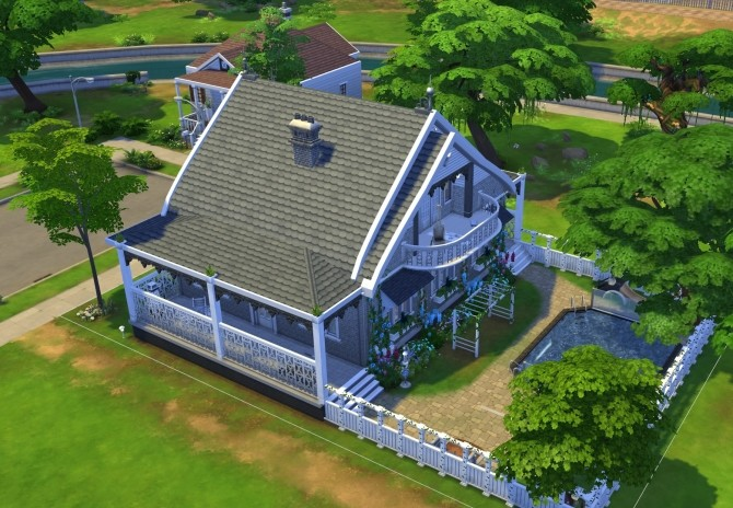 Family Home NoCC by OxanaKSims at Mod The Sims image 1364 670x464 Sims 4 Updates