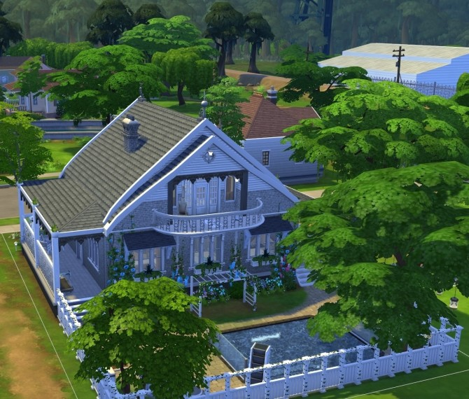 Family Home NoCC by OxanaKSims at Mod The Sims image 1374 670x570 Sims 4 Updates