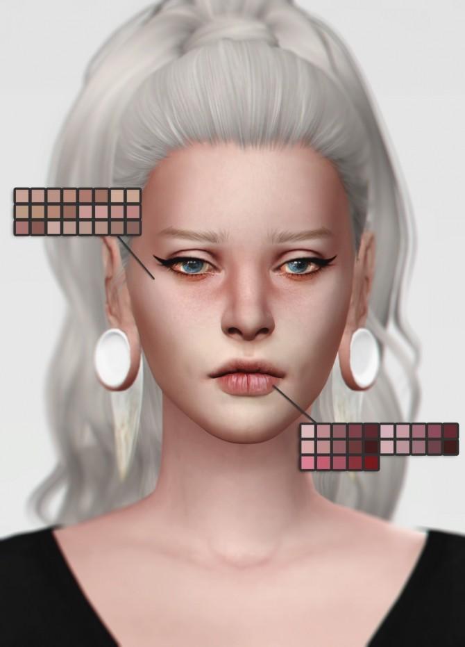 Eyelids, Eye bruise, Nasal Mask + Lipstick at Magic bot image 1381 670x931 Sims 4 Updates