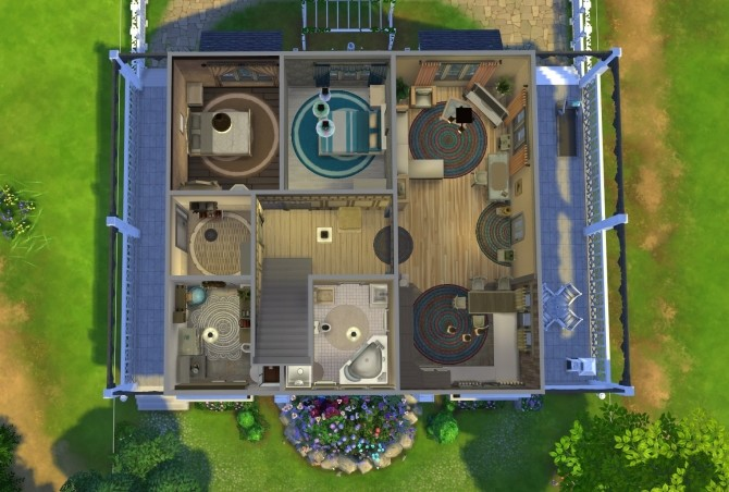 Family Home NoCC by OxanaKSims at Mod The Sims image 1384 670x452 Sims 4 Updates