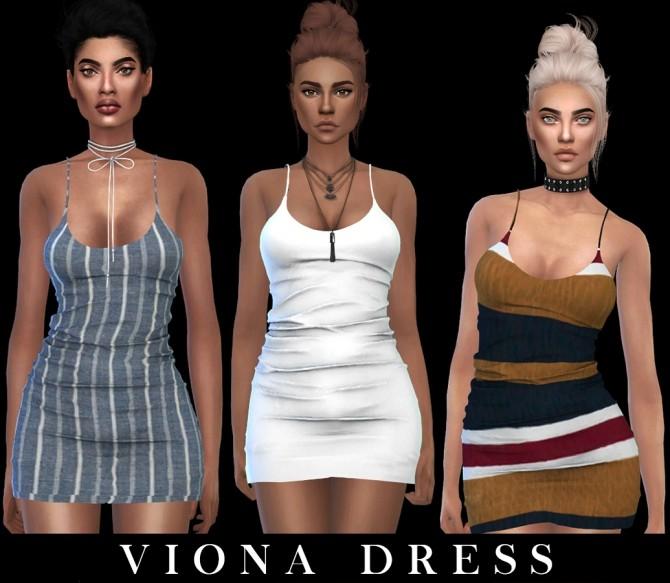 Viona Dress Fixed at Leo Sims image 1402 670x583 Sims 4 Updates