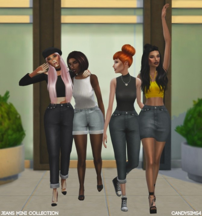 JEANS MINI COLLECTION at Candy Sims 4 image 1414 670x718 Sims 4 Updates