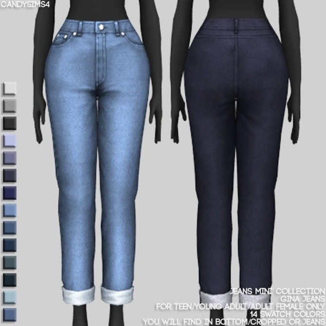 JEANS MINI COLLECTION at Candy Sims 4 image 1422 670x670 Sims 4 Updates
