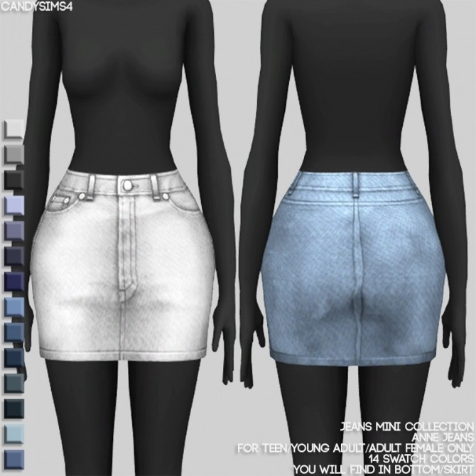 JEANS MINI COLLECTION at Candy Sims 4 image 1432 670x670 Sims 4 Updates