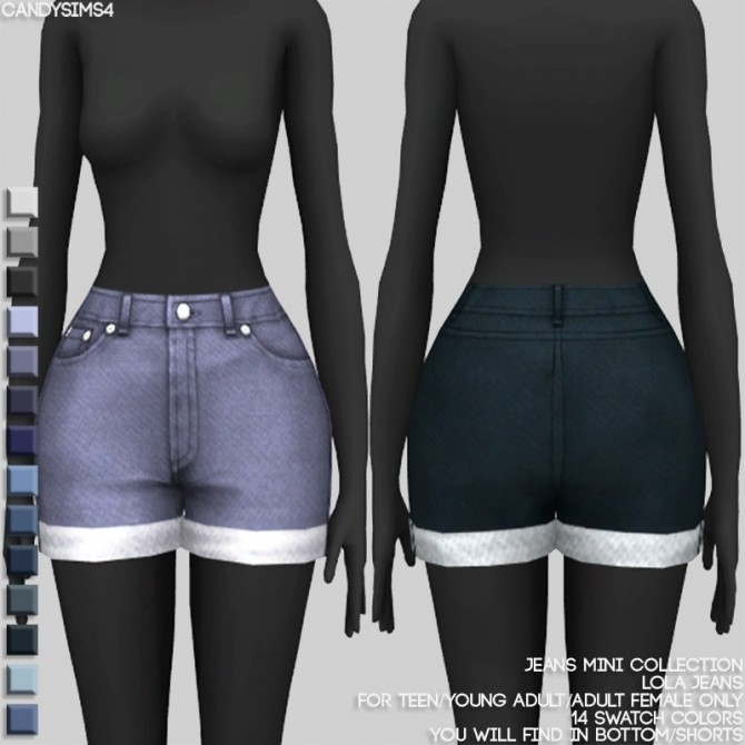 JEANS MINI COLLECTION at Candy Sims 4 image 1441 670x670 Sims 4 Updates
