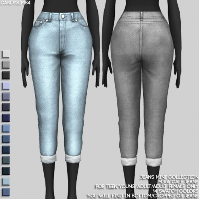 JEANS MINI COLLECTION at Candy Sims 4 image 1452 670x670 Sims 4 Updates
