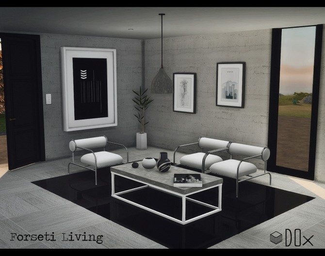 Forseti Living (free +P) at DOX image 1453 670x529 Sims 4 Updates