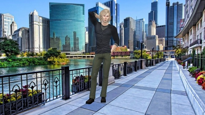 River Chicago CAS Background at CatySix image 1464 670x377 Sims 4 Updates
