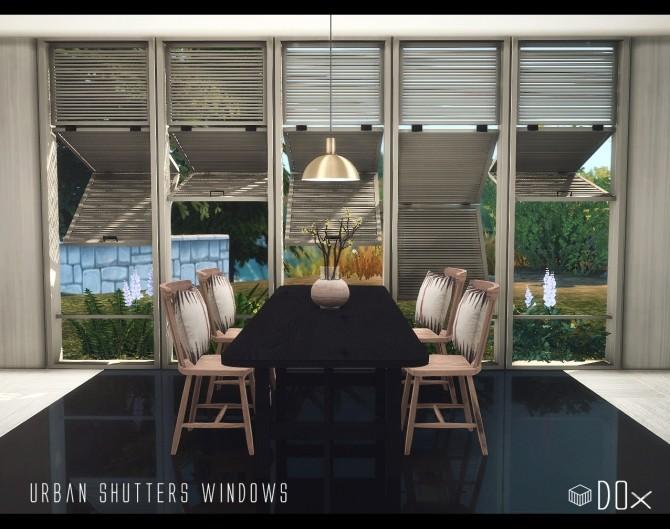 Urban Shutters Windows at DOX image 1472 670x529 Sims 4 Updates