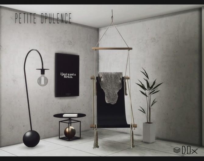 Petite Opulence Set (P) at DOX image 1482 670x528 Sims 4 Updates