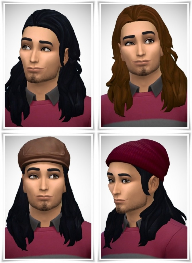 Slick Back Long Hair male at Birksches Sims Blog image 1485 670x915 Sims 4 Updates