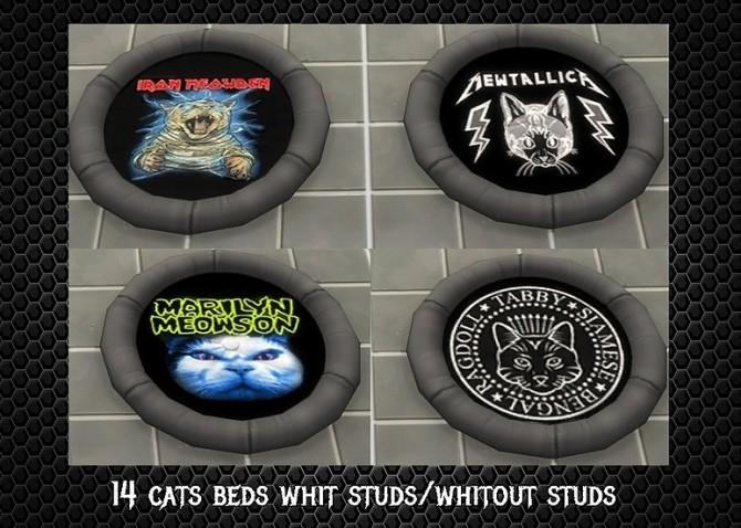 Sims 4 Cats Beds V3 at CatySix