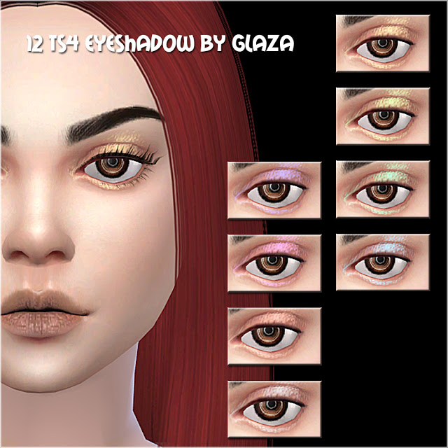 Sims 4 Eyeshadow #12 at All by Glaza