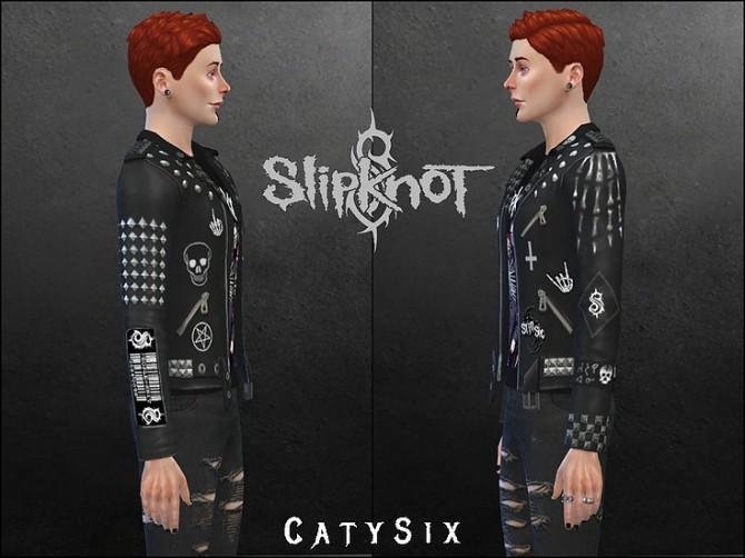 Sims 4 Slipknot Jacket at CatySix