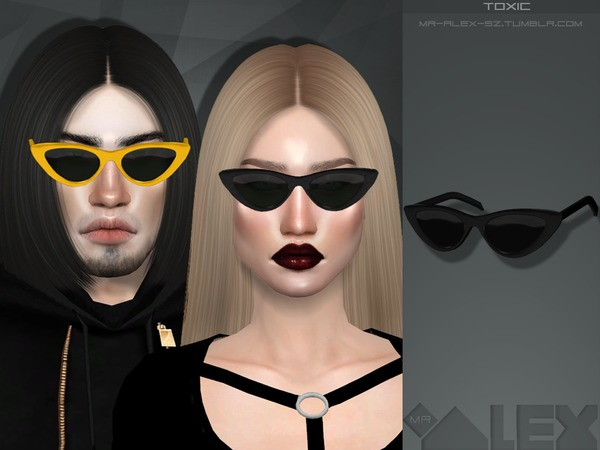 Toxic sunglasses by Mr.Alex at TSR image 1526 Sims 4 Updates