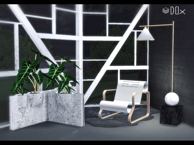 Architectural Lines Set (P) at DOX image 1532 670x502 Sims 4 Updates