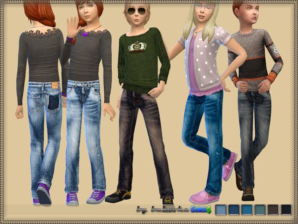 Denim pants by bukovka at TSR image 1537 Sims 4 Updates