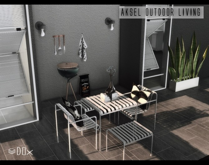 Aksel Outdoor Living at DOX image 1542 670x528 Sims 4 Updates