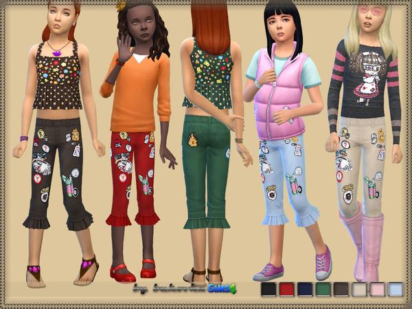 Sims 4 Breeches Frill by bukovka at TSR