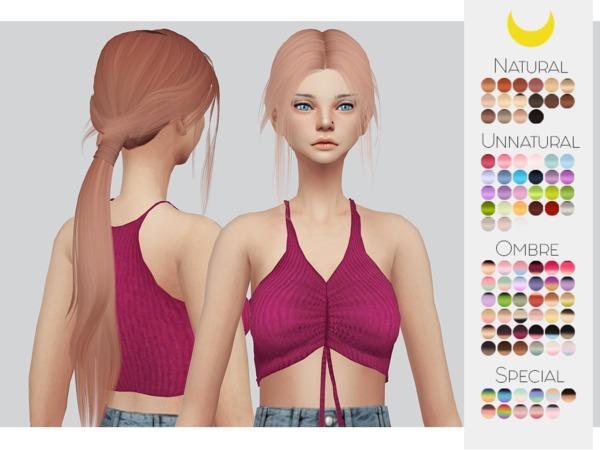 Sims 4 Hair Retexture 28 Leahlilliths Lacuna by Kalewa a at TSR