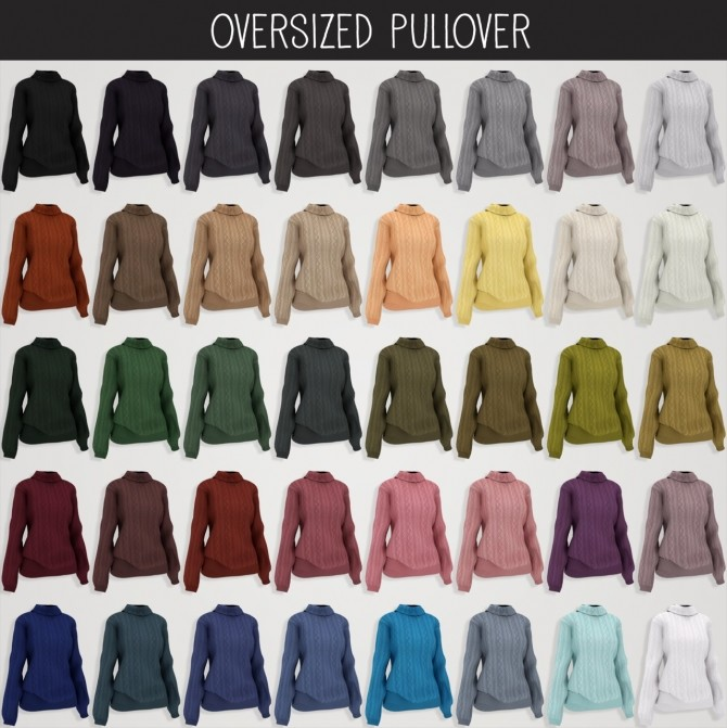 Everyday clothing collection part 1 at Elliesimple image 1565 670x671 Sims 4 Updates
