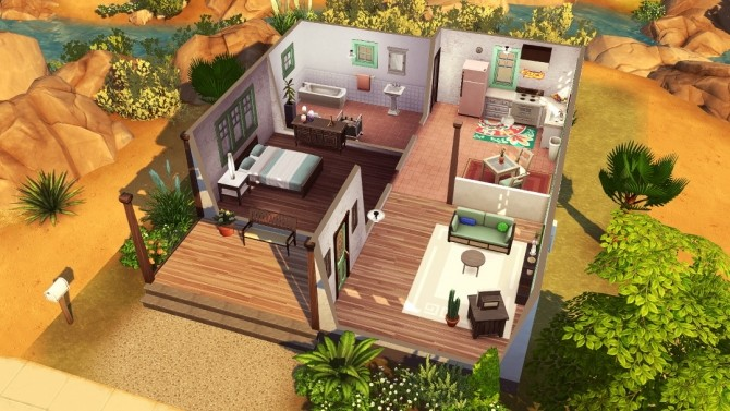 Mojito Starter & Mojave Homestead at Jenba Sims image 1596 670x377 Sims 4 Updates