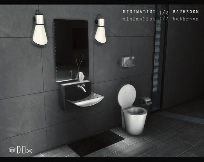Minimalist 488488 Bathroom Set P At DOX Sims 48 Updates Gorgeous Bathroom Plumbing 101 Minimalist