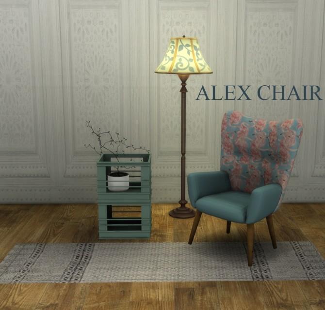 Sims 4 Alex Chair at Leo Sims