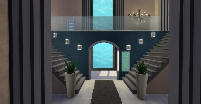 Waterfall Mansion by Waterwoman at Akisima image 1608 670x346 Sims 4 Updates
