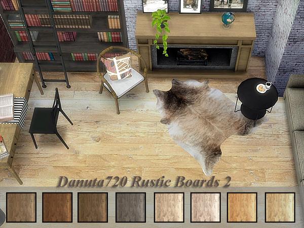 Rustic Boards 2 by Danuta720 at TSR image 1620 Sims 4 Updates