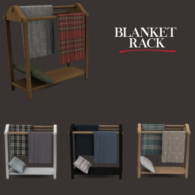 Blanket Rack at Leo Sims image 1625 670x670 Sims 4 Updates