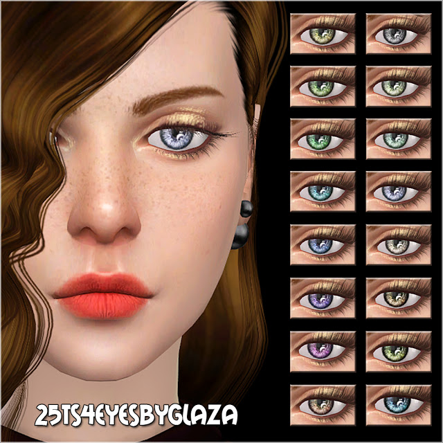 Sims 4 Eyes #25 at All by Glaza