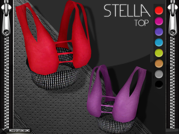MFS Stella Top at TSR image 1637 Sims 4 Updates