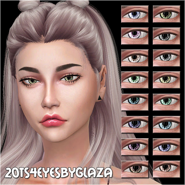 Eyes #20 at All by Glaza image 1664 Sims 4 Updates