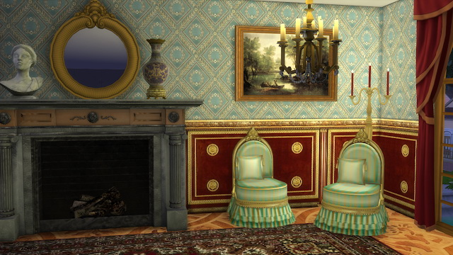 Antique Slipper Chair at Regal Sims image 1668 Sims 4 Updates