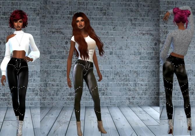 Birthday Gift Leather Pants + skirt at Teenageeaglerunner image 1673 670x466 Sims 4 Updates