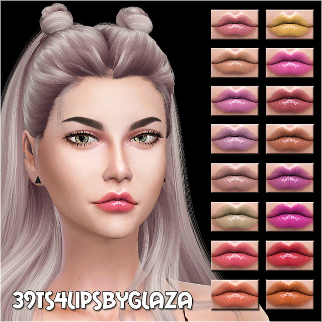 Sims 4 Lips #39 at All by Glaza