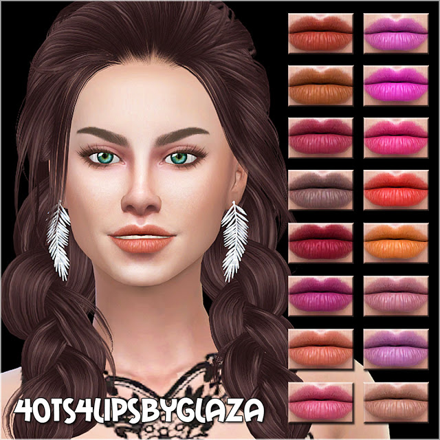 Sims 4 Lips #40 at All by Glaza
