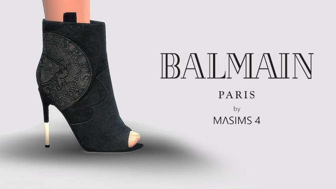 Sims 4 Boots at MA$ims4