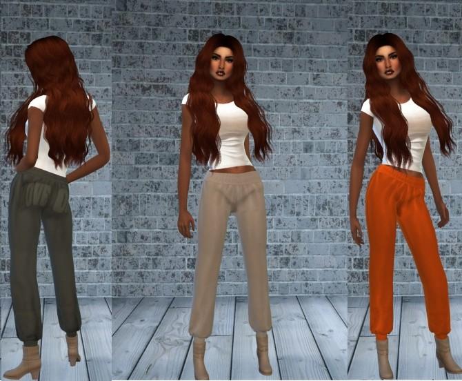 Birthday Gift Leather Pants + skirt at Teenageeaglerunner image 1693 670x552 Sims 4 Updates