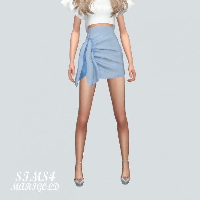 Tied Wrap Skirt at Marigold image 170 670x670 Sims 4 Updates