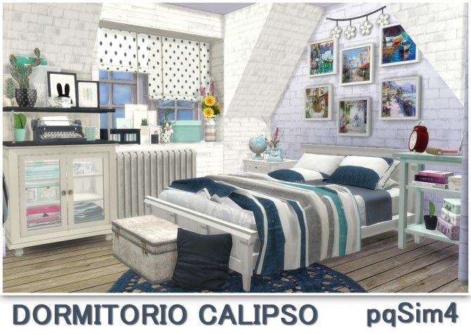 Calipso bedroom at pqSims4 image 1703 670x475 Sims 4 Updates