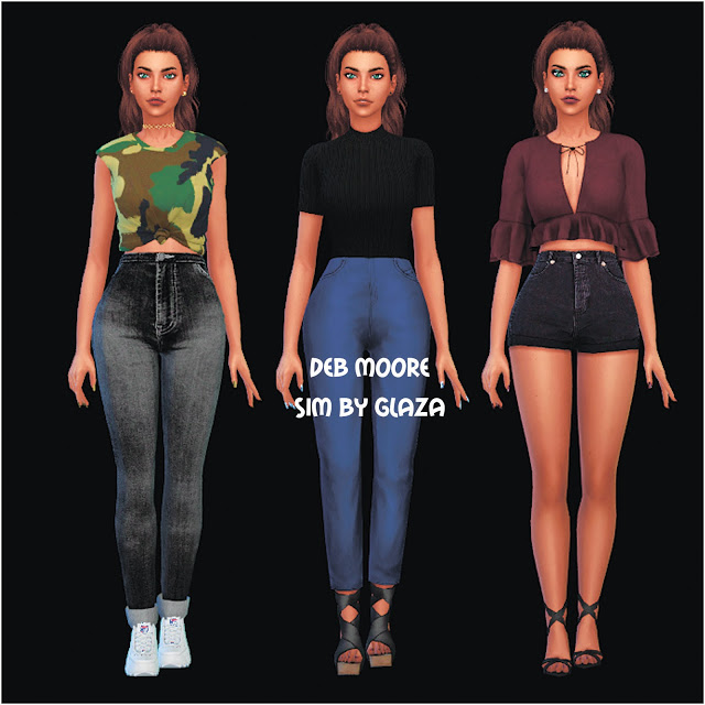 DEB MOORE at All by Glaza image 1704 Sims 4 Updates
