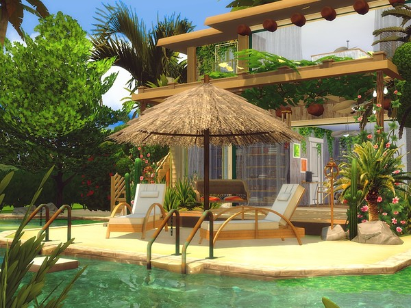 Sims 4 Sweet Tropical Life by MychQQQ at TSR