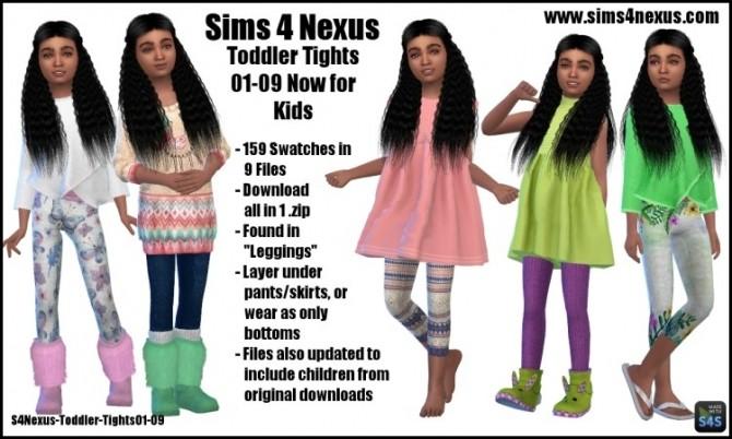Toddler Tights Kids Conversions by SamanthaGump at Sims 4 Nexus image 1713 670x402 Sims 4 Updates